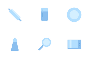Kitchen And Food Icon Pack