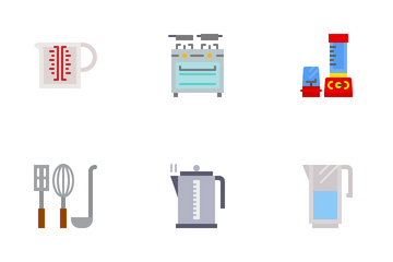 Kitchen & Cookware Icon Pack