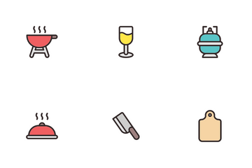 Kitchen Equipment Icon Pack