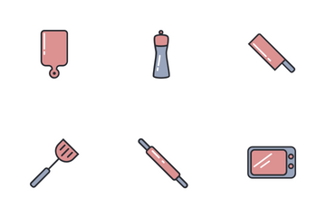 Kitchen (filled) Vol.1 Icon Pack