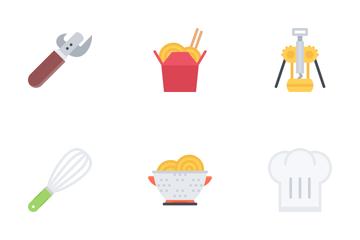 Kitchen Flat Icon Pack