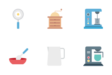 Kitchen Material Icon Pack