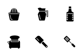 Kitchen (Solid) Icon Pack
