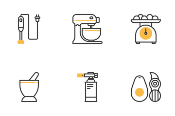 Kitchen Tools Icon Pack
