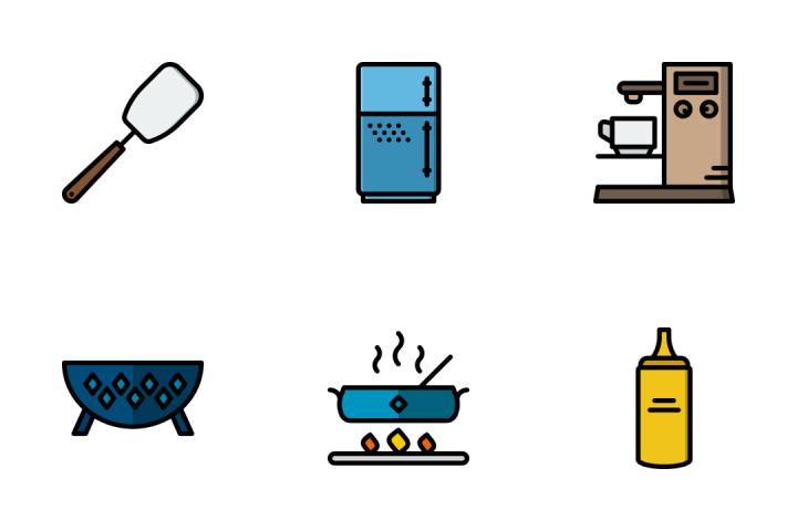 Kitchen Tools - Retro Icon Pack