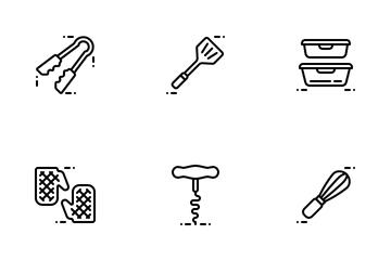 Kitchen Utensil Icon Pack