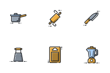 Kitchen Utensil Icon Pack