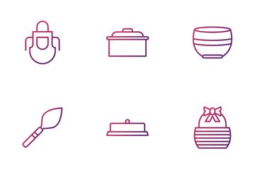Kitchen Utensils Icon Pack