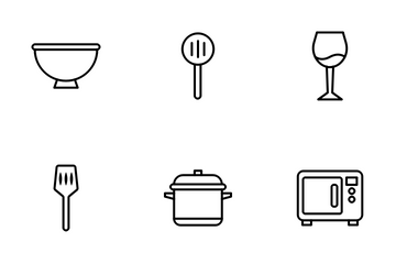 Kitchen Utensils Icon Pack