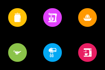 Kitchen Utilities Icon Pack