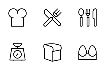 Kitchen Vector Icons Icon Pack