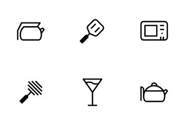 Kitchens Set Icon Pack