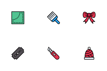 Knitting ,Handmade Icon Pack