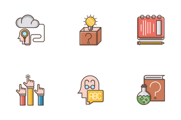 Knowledge And Education Icon Pack
