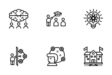 Knowledge Is Power Icon Pack