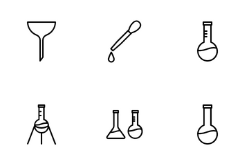 Laboratory Apparatus Icon Pack