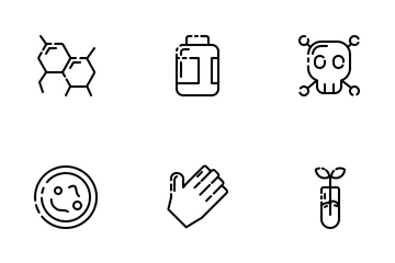 Laboratory Outline Icon Pack