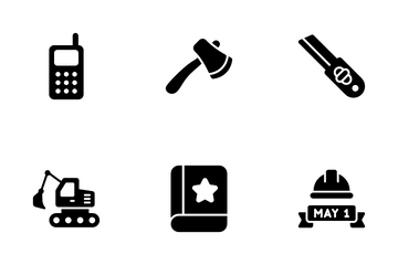 Labors Day Icon Pack