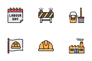 Labour Day Icon Pack