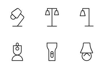 Lamp And Lantern Icon Pack