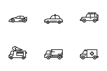 Land Transportation Icon Pack