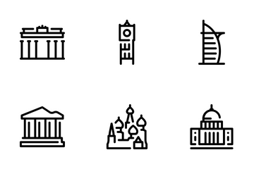 Landmark Icons Icon Pack