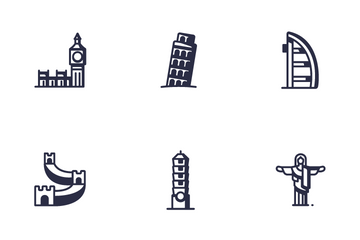 Landmark Set Icon Pack