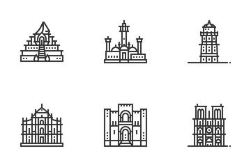 Landmark Vol 2 Icon Pack