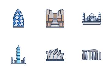 Landmarks Icon Pack