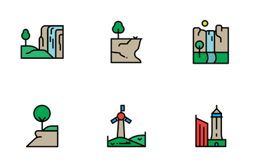 Landscapes Icon Pack