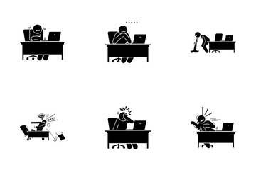 Laptop Reaction Icon Pack
