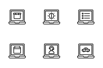 Laptops Icon Pack