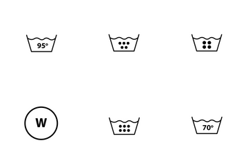 Laundry Icons Icon Pack