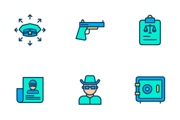 Law And Crime Icon Pack