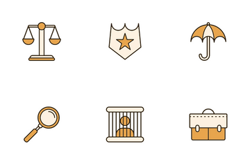 Law And Legal Icon Pack