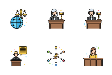 Law And Legislation Icon Pack