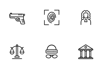 Law And Police Icon Pack