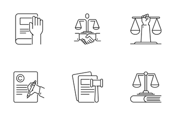 Law & Justice Icon Pack