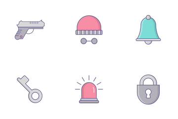 Law & Police  Icon Pack