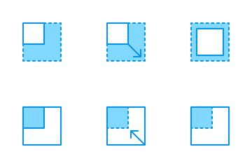 Layout Bluetone Icon Pack