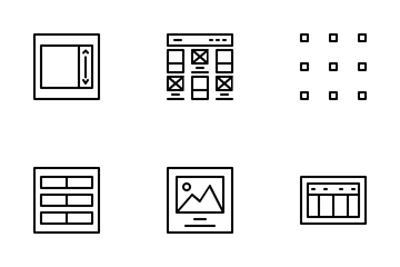 Layout Design Icon Pack