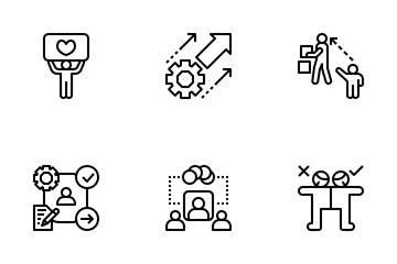Leadership And Management Icon Pack
