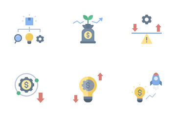 Lean Startup Icon Pack