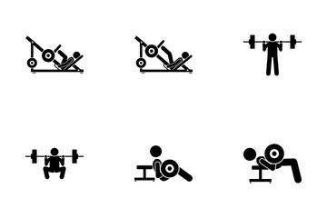 Leg Exercise Icon Pack