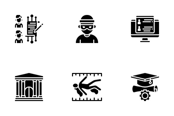 Legal Laws Justice Icon Pack
