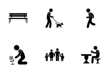 Leisure Activities Icon Pack