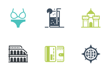 Leisure And Tourism Icon Pack