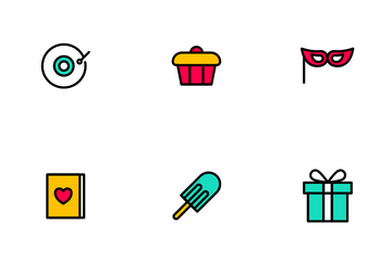 Let's Party Icon Pack