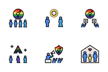 LGBTQ Community Icon Pack