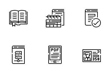 Library Icon Pack